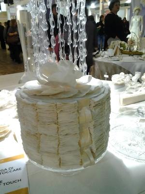 Cake design in tessuto